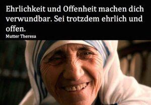 Mutter Teresa Zitat
