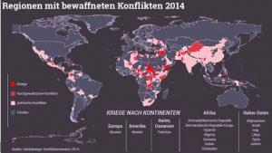 weltweite Kriege